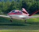 Компания SATSair будет использовать Cirrus SJ50 Vision Jet в качестве авиатакси.