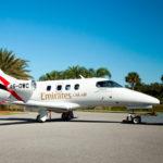 Emirates получил самый маленький реактивный самолет